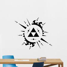 Legend Of Zelda Triforce Wall Decal Video Game Vinyl Sticker Decor Poster 157crt