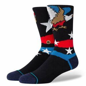 Stance Socks 'Freedom Strike Crew'   Crew Height   New With Tag   Large & Medium
