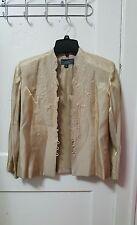 Women's KM Collections by Milla Bell Blazer Jacket Size 10 Medium M