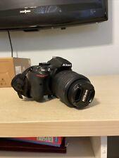 Nikon D D5200 24.1MP Digital SLR Camera - Black (Kit w/ AF-S DX G VR 18-55mm...
