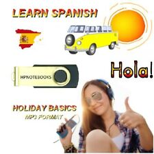 LEARN HOW TO SPEAK SPANISH LANGUAGE ON USB USE IN CAR / ANY MP3 PLAYER 1ST REC