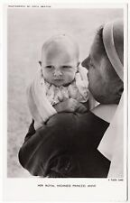 * RAPHAEL TUCK - Princess Anne - Real Photograph #A4 - c1950s era postcard