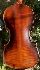 Old Estate Violin Nice Flamed Back Stradivarius Label