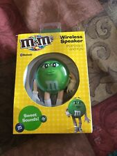 New iHip M&M's Portable Bluetooth Wireless Mini Speaker for Apple & Android Blue