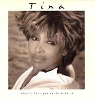TINA TURNER what's love got to do with it (CD album) pop rock, rock & roll