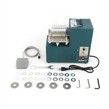 40W Leather slitting machine for shoe bags paper products cutting straight 110V