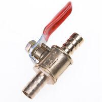 6mm Barb Inline Messing Wasser Luft Gas Kraftstoffleitung Absperr Kugelhahn W I1