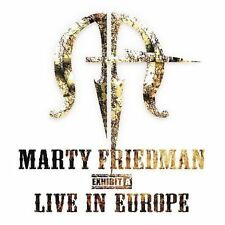Marty Friedman - Live in Europe  (CD, Aug-2008, Mascot Music)
