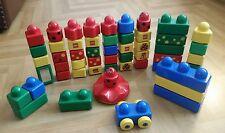Vintage Lego Duplo Zoo Bundle - Including Picture Bricks And Car / VGC