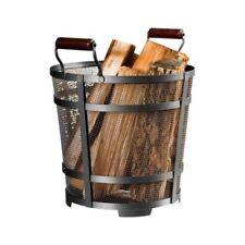 Modern Fireplace Log Holders Carriers Ebay