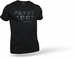 Paffen Sport Logo T-Shirt schwarz. Gr.S-XXL. Slim Fit. Boxen, Kickboxen, MMA