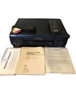 Sony SLV-685HF VCR Hi-Fi Player/Recorder~Remote~Manual~AVs~EXCELLENT!~Tested!!