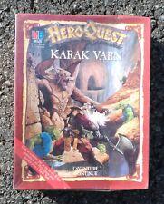 HeroQuest - Extension Karak Varn 100% complet neuf sous cellophane !