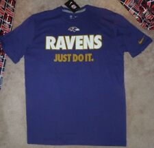 NEW NFL Baltimore Ravens NIKE Statement Just Do It Men XL X-Large NEW NWT