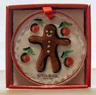 Kosta Boda Christmas Ornament Gingerbread Man by Martti Rytkönen Scandinavia NIB