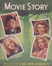 NOV 1944 MOVIE STORY vintage movie magazine JOAN BLONDELL