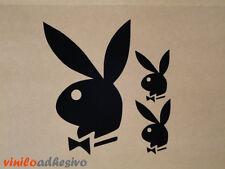 PEGATINA STICKER VINILO Playboy conejito autocollant aufkleber adesivi conejita