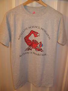Satellite Beach Florida High School Science Class Research Scropion T Shirt Sm