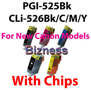5 INK for CANON MX885 IP4850 MG5150 MG5250 MG6150 8150