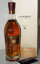 GLENMORANGIE 18 Y EXTREMELY RARE von 2011 HIGHLAND Single Malt 43% 700ml ! 25a