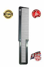 LARGE BARBER WAHL STYLE HAIR CUTTING & STYLING FADES BLACK FLAT TOP CLIPPER COMB