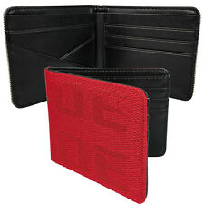 JDM BRIDE Seat Gradation Logo Wallet Custom Stitched Leather Racing Cool Red