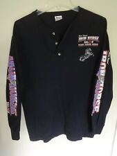 2000 Bike Week World Famous Iron Horse Saloon Long Sleeve Shirt Men M
