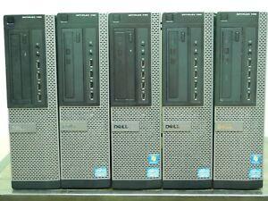 Lot of 5 Dell Optiplex 790 Core i3-2100 @ 3.10GHz 4GB Ram No OS No HDD