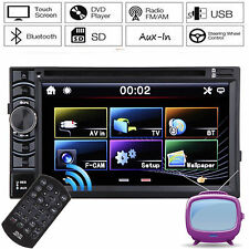 """Double DIN 6.2"""" HD In dash Car Stereo Radio CD Player Aux Input MP3 Touchscreen"""