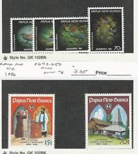 Papua New Guinea, Postage Stamp, #645-8, 649-50 Mint NH, 1986, JFZ