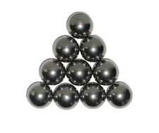 """Ten 1"""" Inch Soft Polish Precision Carbon Steel Balls Can be machined"""