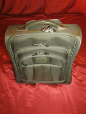 Pro Lite 2 Wheel Rolling 16x14x8 Gray Cabin Carry-On Travel NICE LOTS of POCKETS