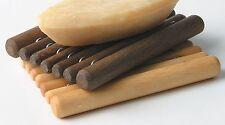 Rhomtuft Seifenschale Seifenablage Seifenhalter MICADO - Holz - 8x12 cm