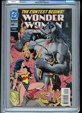 Wonder Woman #90 CGC 9.8 White 1st Artemis 1994
