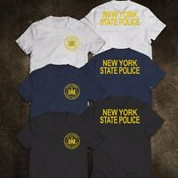 NEW York State Police United States Department Tee T-Shirt S-3XL