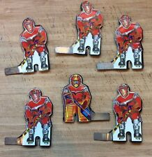 1989 Russian Tin/plastic Table Hockey Players-Red Team, Coleco Munro Eagle