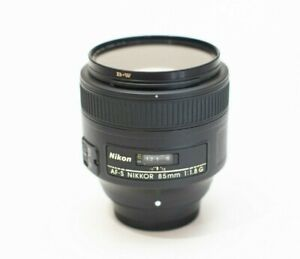 Nikon 85mm f/1.8G lens - Open box, B+W brand UV filter included