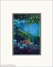 New • ROCK FISH WORLD matted art print by Tofino Long Beach artist MARK HOBSON