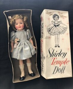 Vintage 1959 Ideal Shirley Temple Doll 12 With Original Box
