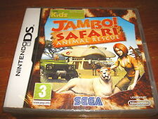 JAMBO SAFARI ANIMAL RESCUE ** New & Sealed ** Nintendo Ds Game