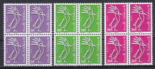 Nouvelle Caledonie 2019 New issue Cagou Werling gummed stamps MNH** X 4