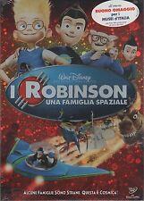DISNEY I ROBINSON UNA FAMIGLIA SPAZIALE DVD SLIPCASE SIGILLATO!!!