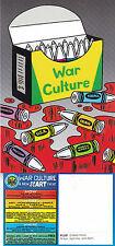 DANCE MUSIC ARTS PERFORMANCE - WAR CULTURE - ADVERTISING COLOUR POSTCARD