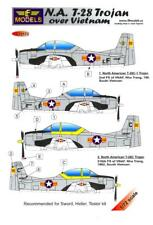 LF Models Decals 1/72 NORTH AMERICAN T-28 TROJAN OVER VIETNAM