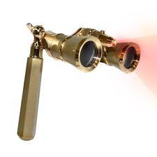HQRP 3x25 Opera Glasses Theater Glass Optics Binoculars Gold Golden Color
