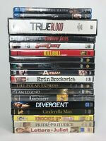 Lot of 18 Brand New Factory Sealed Movies (15 DVD's, 1 DVD TV Series, 2 Blu Ray)