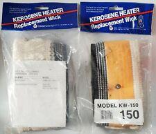 Lot -2 Kerosene Heater Wicks - Kero-Sun Omni 120, 230, Toyo KSA-120, WC-120,120R