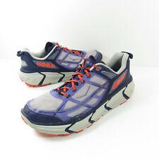 Hoka One One Challenger ATR Women's Gray Purple Trail Running Shoes Size 10