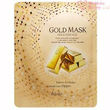 Esfolio Gold Mask Gold Essence 10 Sheets New In Box