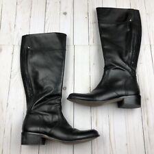Corso Como Black Leather Riding Boots